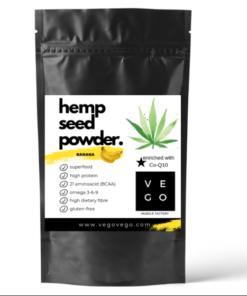 vegovegobanana hemp seed powder