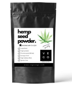 simple hemp seed powder